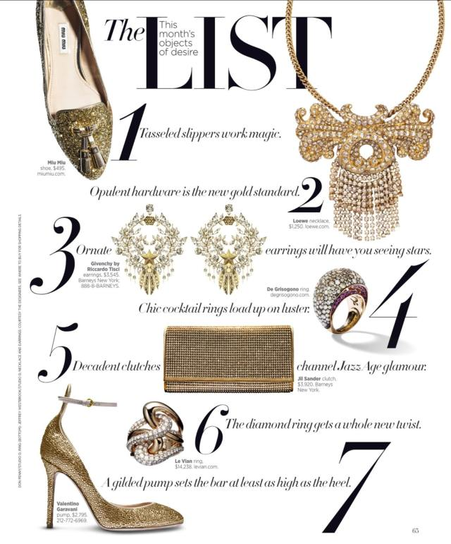My love of gold for this season has been inspired by this fabulous product editorial.