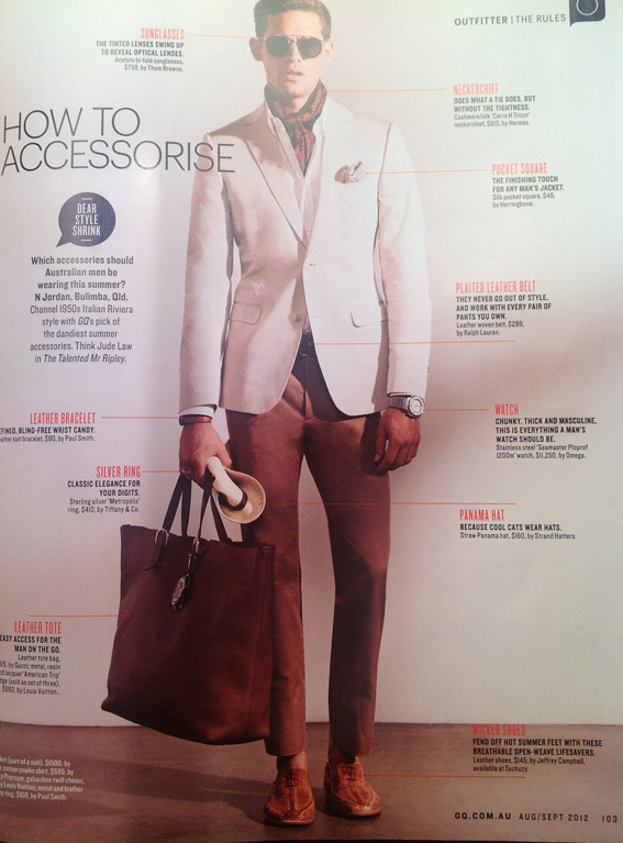Knowing how to accessorise is the key for success for any menswear range this season.