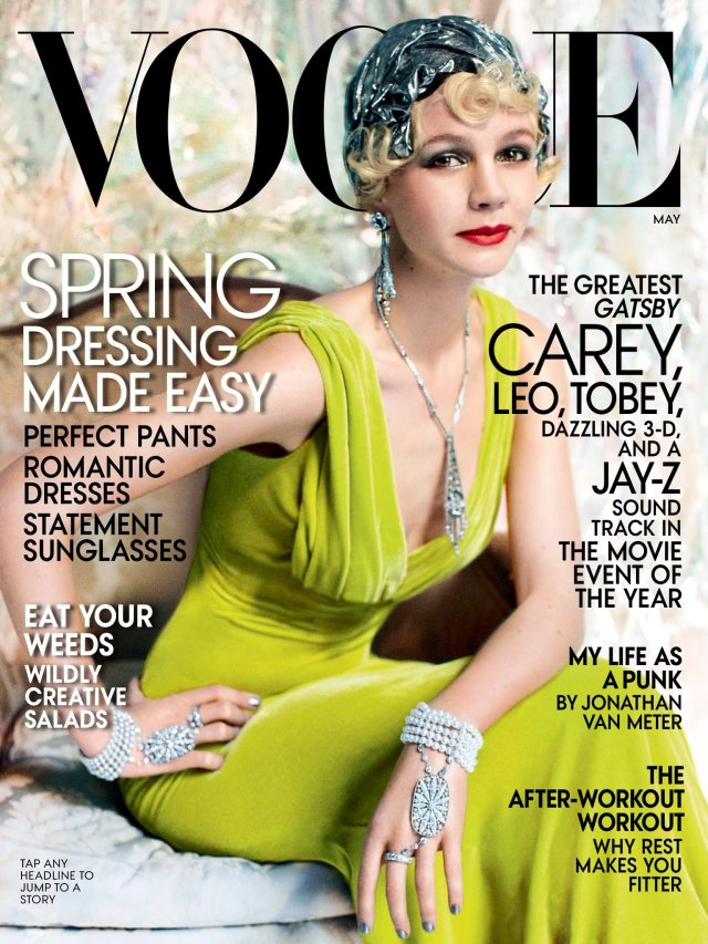 The Greatest Gatsby Vogue Cover