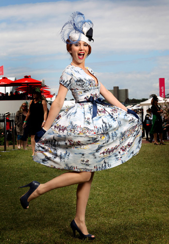 Trend Report | Melbourne Cup Carnival Fashion 2013  How